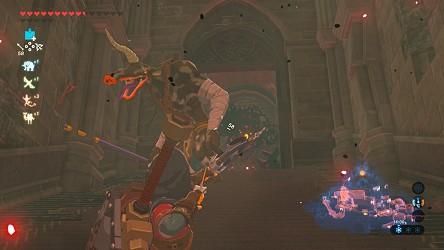Solution De Breath Of The Wild Chateau D Hyrule Le Palais De Zelda