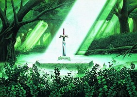 Excalibur A Link to the Past SuperNes