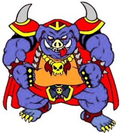 Ganon A Link to the Past SuperNes