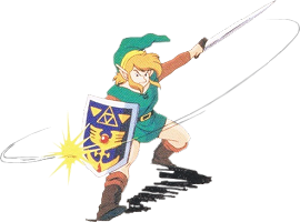 Link attaque A Link to the Past SuperNes