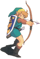 Link tire � l'arc A Link to the Past SuperNes