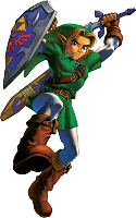 Link attaque Ocarina of Time