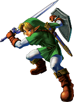 Link combat Ocarina of Time