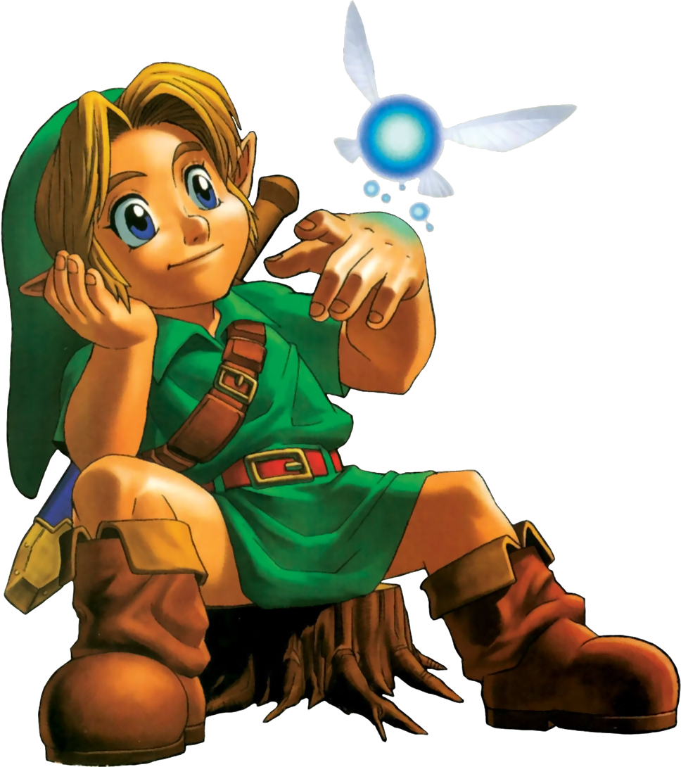 zelda ocarina of time how to talk to navi