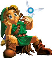 Link et Navi Ocarina of Time